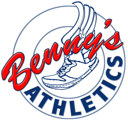 Benny's Athletics concept logo